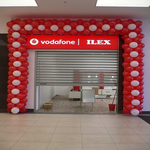Arcada model punct Vodafone