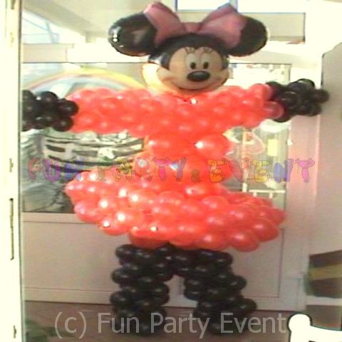 Decor baloane personaje Minnie 1