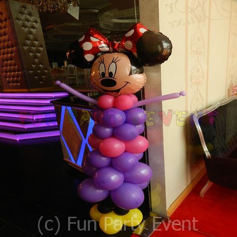 Decor baloane personaje Minnie 3