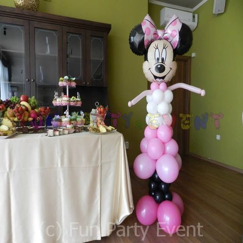 Decor baloane personaje Minnie 4