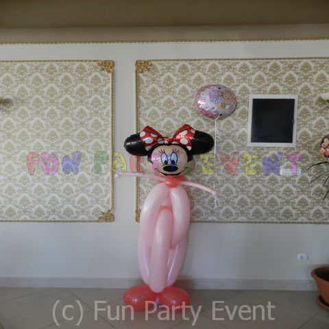 Decor baloane personaje Minnie 6