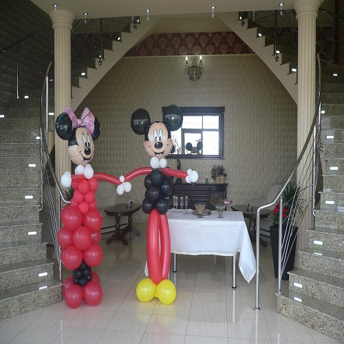 Mickey & Minnie invitati la nunta