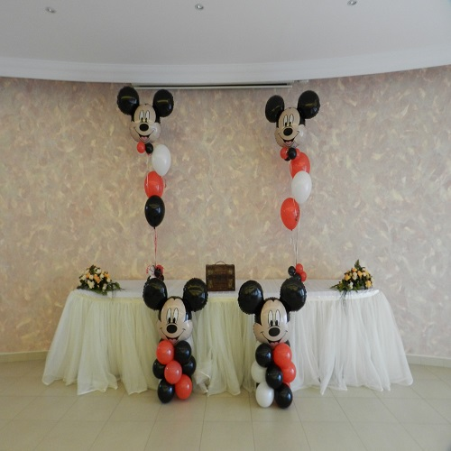 Mickey decor botez