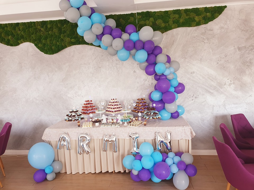 Decor baloane candy bar