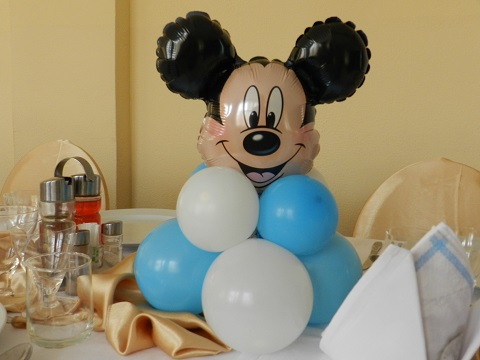 Mickey decor masa