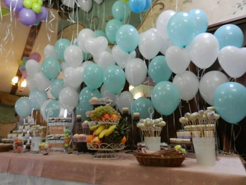 Decor candy bar baloane cu heliu FP7