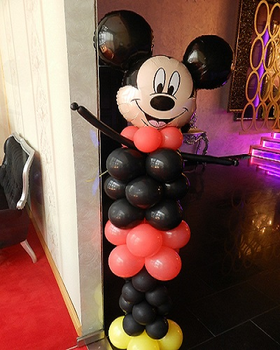 Mickey decor baloane
