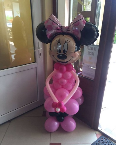 Minnie cu floare