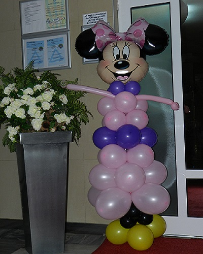 Minnie decor baloane personaje