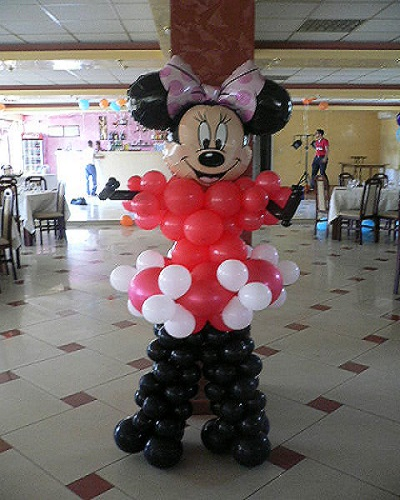 Minnie decor baloane ring de dans